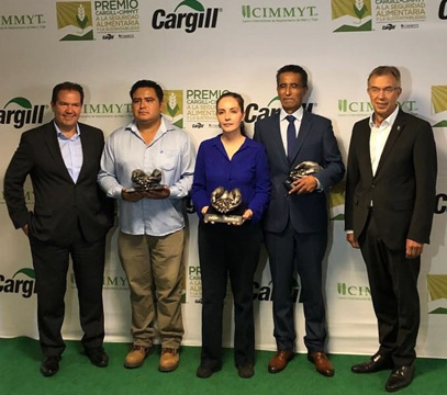 Cargill Mexico and CIMMYT award ceremony image